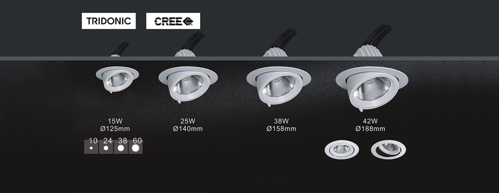 Ceiling Recessed Spotlight
