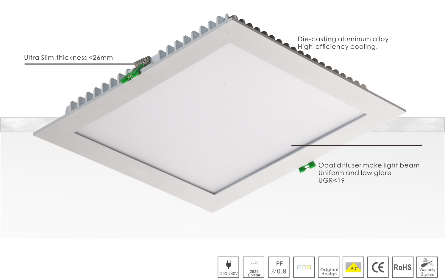 Smart LED Downlight SDL Series