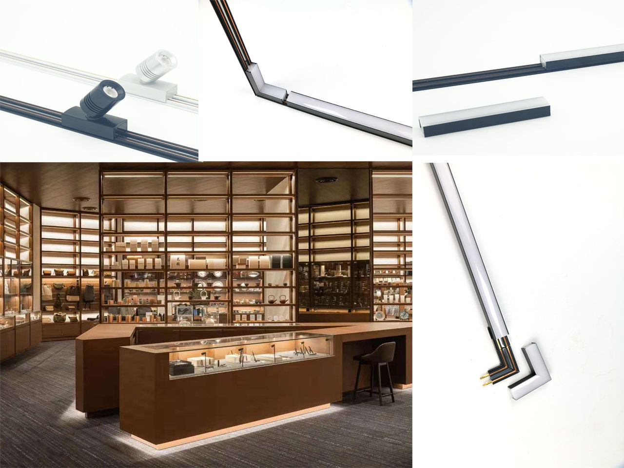 How to choose the most suitable LED cabinet light
