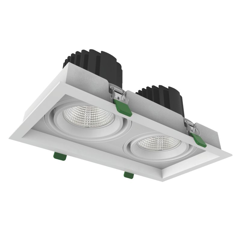 COB Cree LED Grille downlight 33x2W