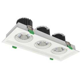 led grille light 3x24W