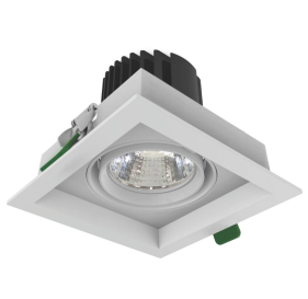 led grille light 2x24W