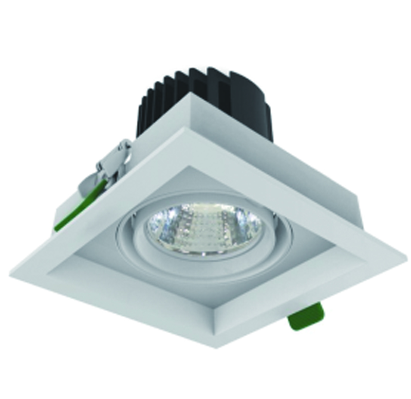 led grille light 1x24W